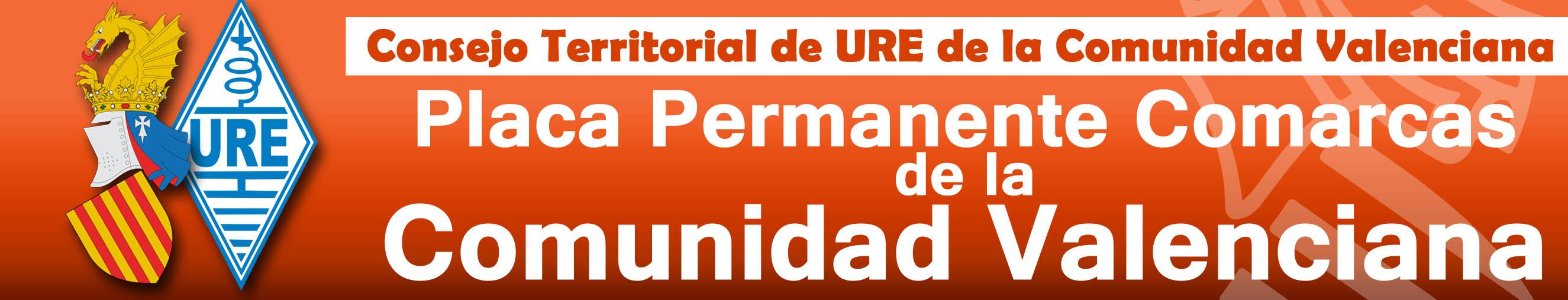 Placa Permanente Comarcas de la Comunidad Valenciana
